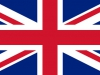 Flag of the UK with correct proportions and color scheme